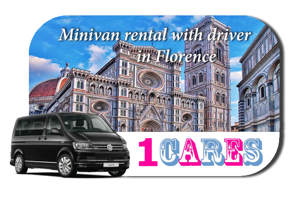 Rent a minivan with driver in Florence