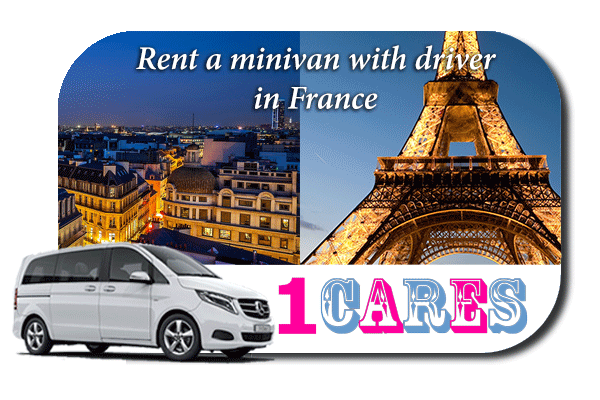 Rent a minivan with driver in France