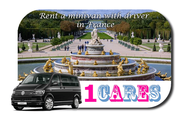 Hire a minivan with driver in France