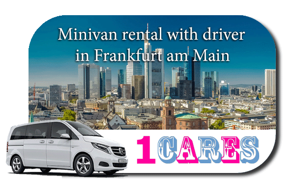 Hire a minivan with driver in Frankfurt