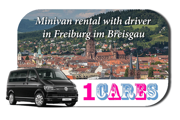 Rent a minivan with driver in Freiburg im Breisgau
