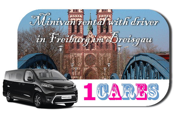 Hire a minivan with driver in Freiburg im Breisgau