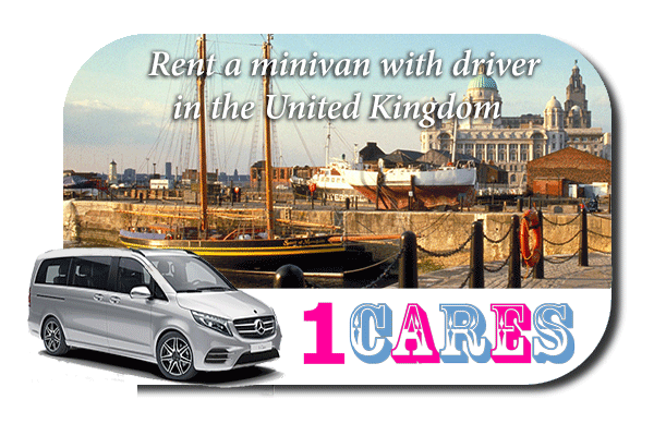 Rent a minivan with driver in the UK
