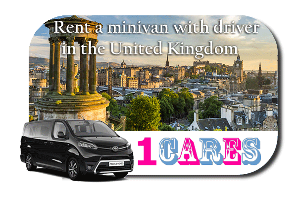 Hire a minivan with driver in the UK