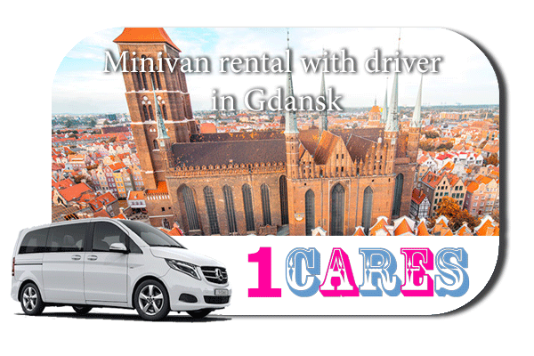 Rent a minivan with driver in Gdansk