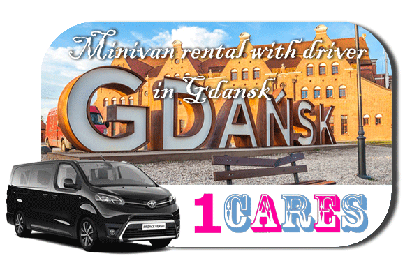 Hire a minivan with driver in Gdansk