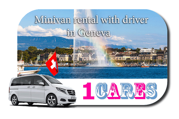 Rent a minivan with driver in Geneva