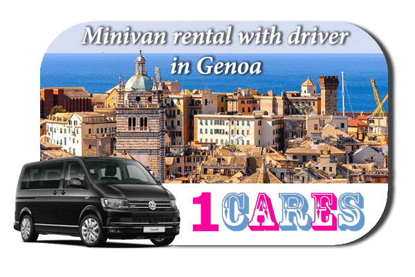 Rent a minivan with driver in Genoa
