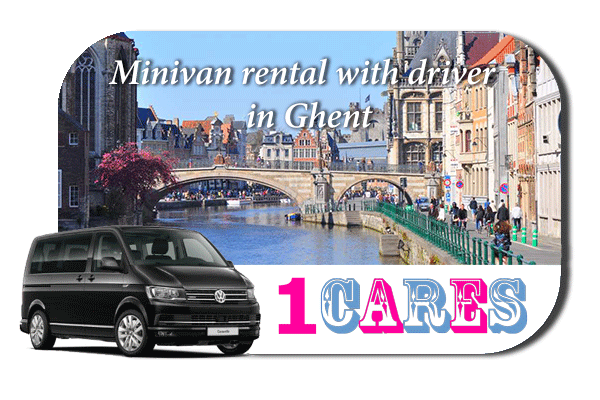 Rent a minivan with driver in Ghent