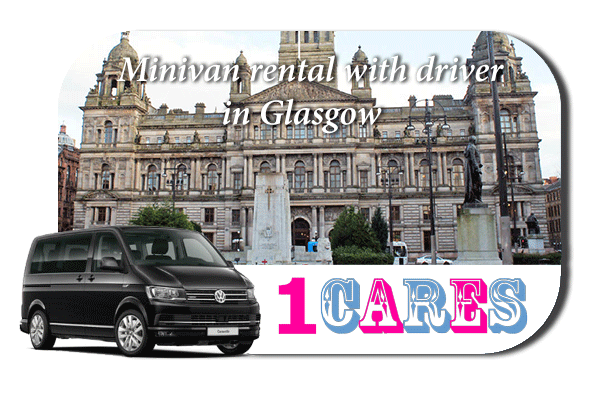 Rent a minivan with driver in Glasgow