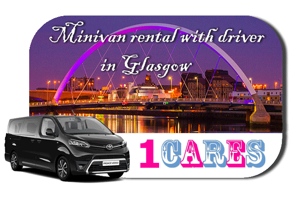Hire a minivan with driver in Glasgow