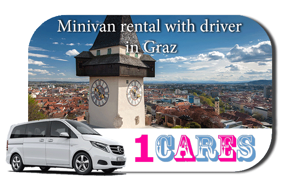 Rent a minivan with driver in Graz