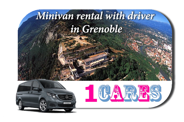 Rent a minivan with driver in Grenoble
