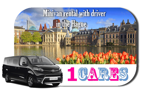 Hire a minivan with driver in The Hauge