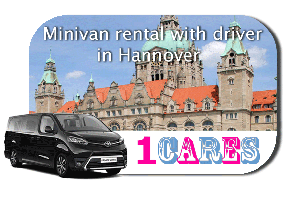 Hire a minivan with driver in Hannover