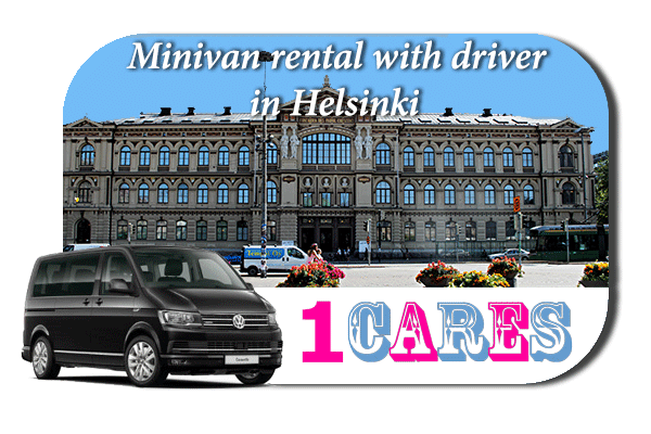 Rent a minivan with driver in Helsinki