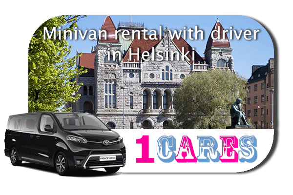 Hire a minivan with driver in Helsinki