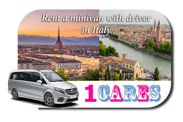 Rent a minivan with driver in Italy