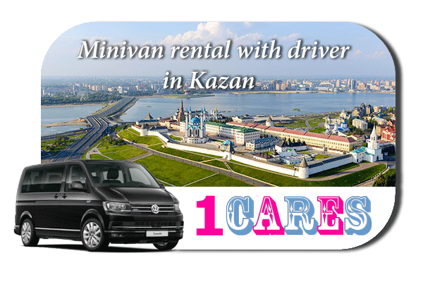 Rent a minivan with driver in Kazan
