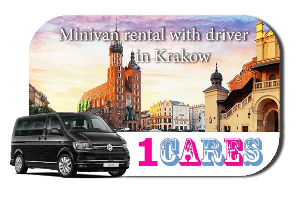 Rent a minivan with driver in Krakow