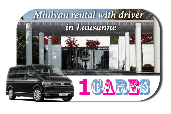 Rent a minivan with driver in Lausanne