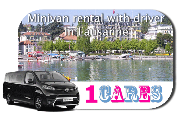 Hire a minivan with driver in Lausanne