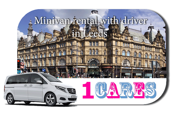 Rent a minivan with driver in Leeds