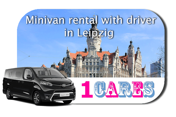 Hire a minivan with driver in Leipzig