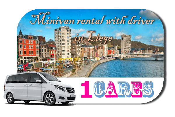 Rent a minivan with driver in Liège