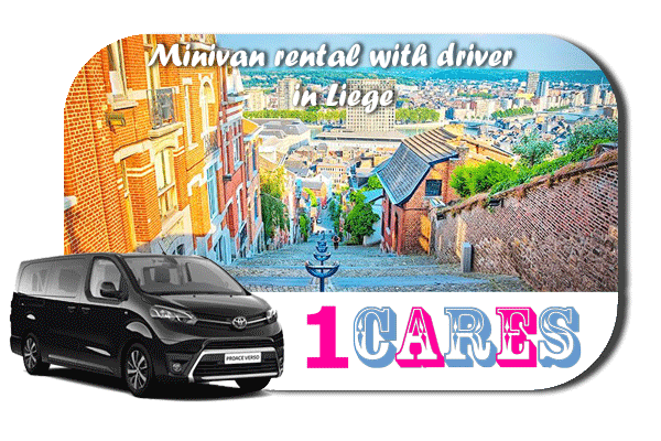 Hire a minivan with driver in Liège