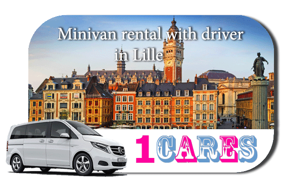 Rent a minivan with driver in Lille