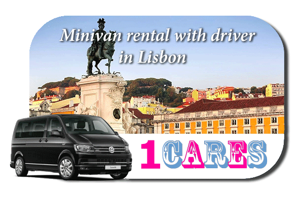 Hire a minivan with driver in Lisbon