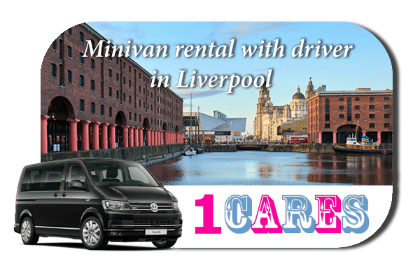 Rent a minivan with driver in Liverpool