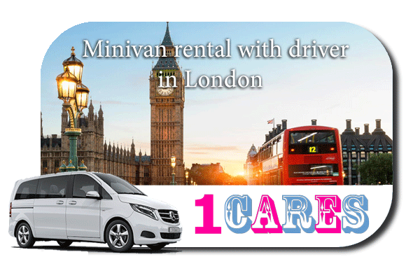 Rent a minivan with driver in London