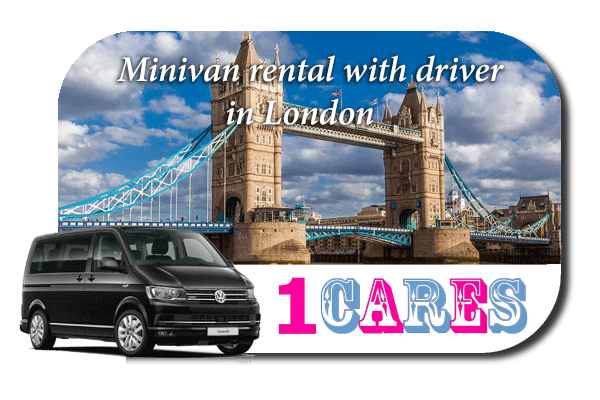 Hire a minivan with driver in London