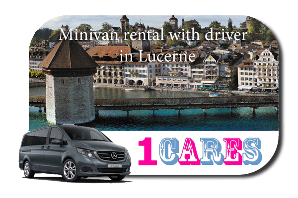 Rent a minivan with driver in Lucerne