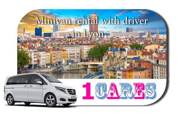 Rent a minivan with driver in Lyon