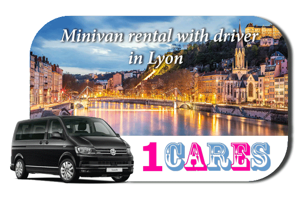 Hire a minivan with driver in Lyon