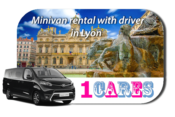 Minivan rental with in Lyon