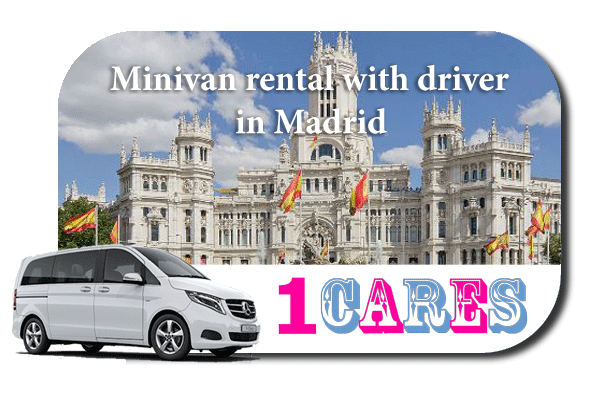 Rent a minivan with driver in Madrid