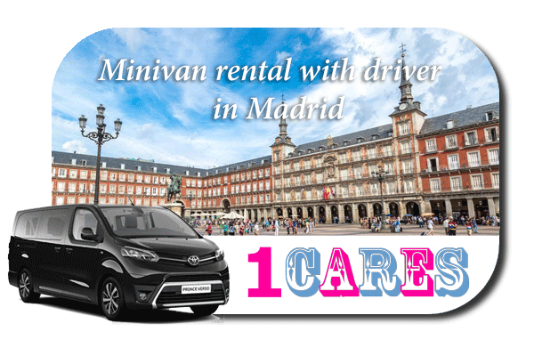 Hire a minivan with driver in Madrid