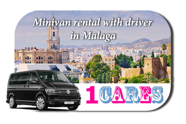 Rent a minivan with driver in Malaga