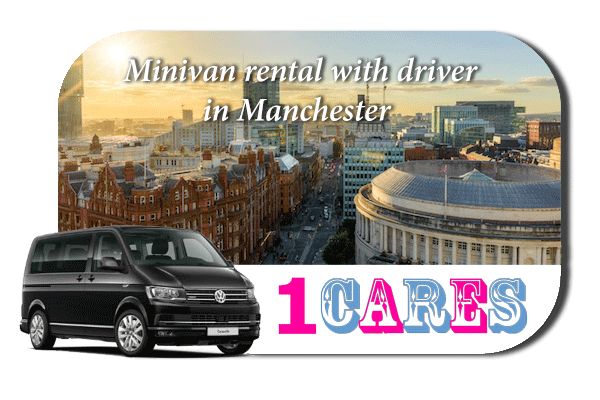 Rent a minivan with driver in Manchester