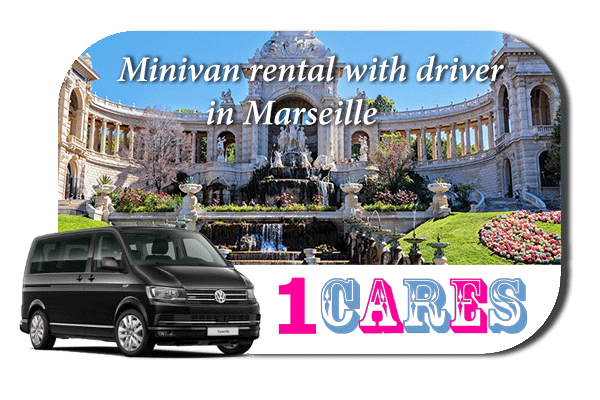 Rent a minivan with driver in Marseille