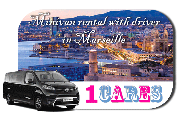 Hire a minivan with in Marseille