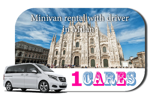 Rent a minivan with driver in Milan