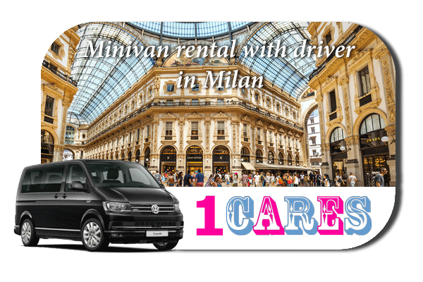 Hire a minivan with driver in Milan