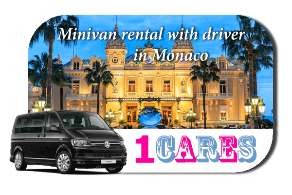 Rent a minivan with driver in Monaco