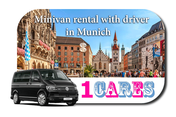 Rent a minivan with driver in Munich