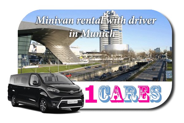 Hire a minivan with driver in Munich